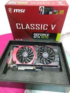 MSI GTX1070 8G DDR5