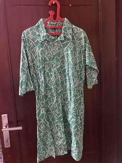 OBRAL Dress Batik Motif Wanita
