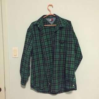 Tommy hilfiger oversized flannel