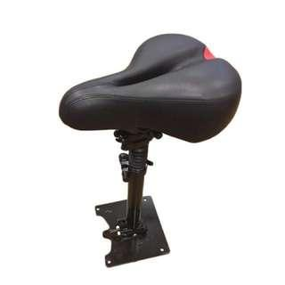 Seat w Suspension & stand for e-bike, e-scoot, bicycle (brand new)