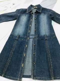 金安德森 女童 牛仔洋裝 全新