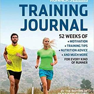 Hardcopy book - journal training plans