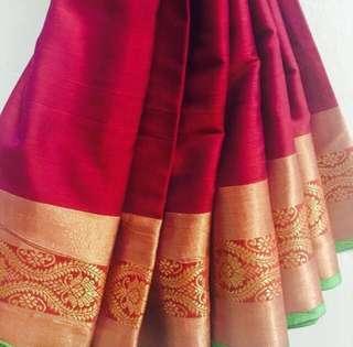 Cotton Silk Saree Indian Wear Desi Salwar Kameez Tamil Diwali Deepavali Hari Raya EID Baju Kurung Kebaya Sarong Sari