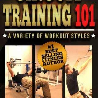 Hardcopy book - training gym exercise 101 methods