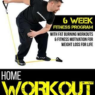 HARDCOPY BOOK - 6 WEEKS WORKOUT - HOME EXERCISE