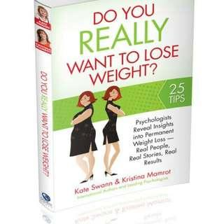 HARDCOPY BOOK - DO YOU WANT LOSE WEIGHT
