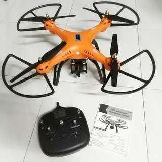 Remote Helicopter Small Airplane HuanQi 899C GPS Orange Drone