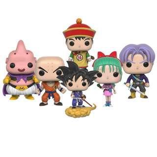 Dragon Ball Set of 6 Funko Pop (Original)