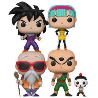 Dragon Ball Funko Set of 4 (original)