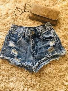 Imported crop Jeans