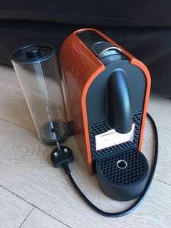 Nespresso coffee machine (red colour)