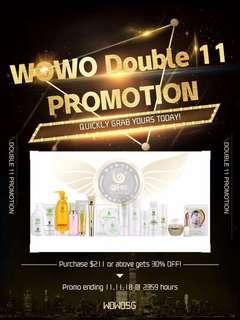 11.11 promo!!!