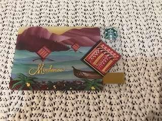 Starbucks Mindanao card