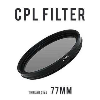 Circular Polarizer CPL Filter 77mm