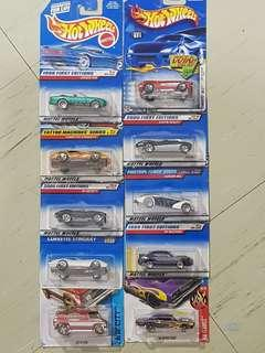 Hot wheels (set of 10)