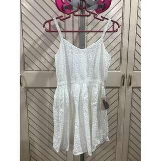White Lace Doll Dress BRAND NEW Forever 21