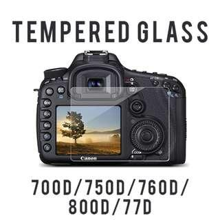 Tempered glass for Canon 700D 750D 760D 800D 77D
