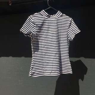 Staples B&W Shirt