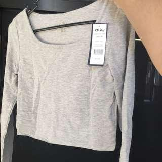 BNWT Grey Long Sleeve