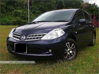 Cheapest Long Term Rental Nissan Latio 1.5A