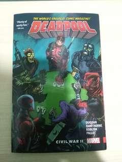 Deadpool Marvel Comic #SBUX50