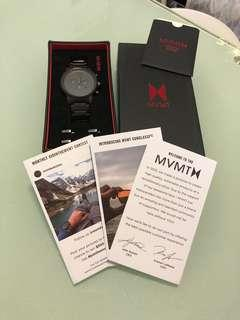 MVMT 45mm 藍針手錶