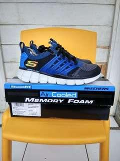 Sepatu anak Skechers original biru