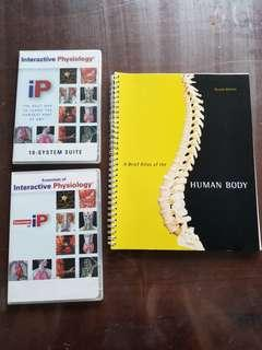 Human Atlas and interactive Physiology CDs