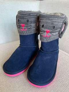 BNWT Bunny Winter Boots Size 10