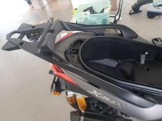 Xmax rear carrier rack a.k.a toprack