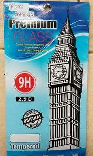TEMPERED GLASS XIOMI REDMI 5A