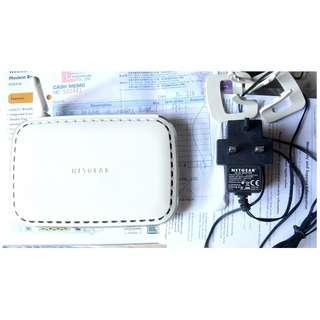 二手Netgear DG834G Wireless G Modem Router