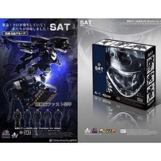 [Preorder] Mech Fans Toys, SAT Special Assault Team, set of 2 (SAT-04/05)
