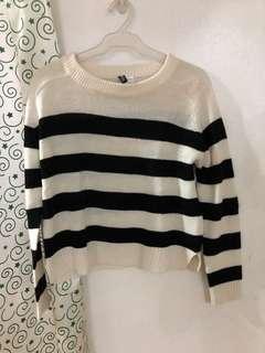 H&M Stripes Sweater