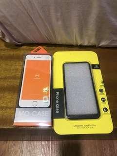 iphone 7/iphone8 case BONUS TEMPERED GLASS