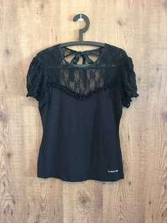 Authentic BEBE Sexy Lace Top - Size L