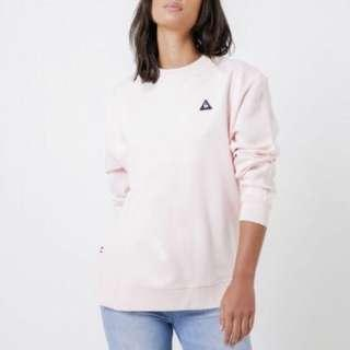 Le Coq Pink Sweater WITH TAGS