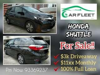 Honda Shuttle. $3,000 Downpayment ONLY!! Limited Units! Used Car.
