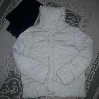 Women Winter Jacket M Free Muffler Scarf