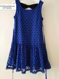 Dress 4-5Y