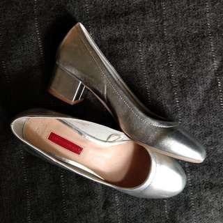 Ballerina shoes - chunky heels