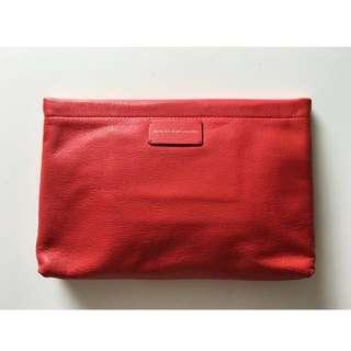 Authentic MARC By MARC JACOBS Apple Red Clutch Bag