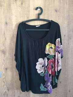 TED BAKER Batwing Top - Size 1