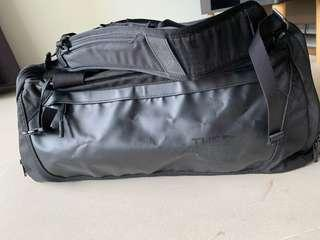 North face duffel bag with shoulder strap
