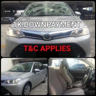 Toyota Corolla Axio. $1,000 Downpayment ONLY!! Limited Units! Used Car.