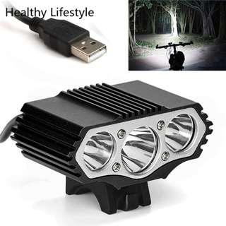 Bicycle Lamp Bike Light Headlight Cycling Torch Outdoor Bike Bicycle Light Cree 12000 Lumen 3 XML T6 Light