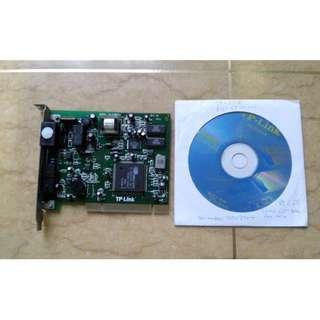 二手TP Link 56K Modem PCI