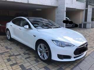 2016 Tesla Model S 70 only 37000km 0首 自讓