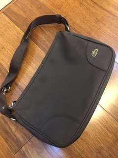Two way Lacoste bag brown