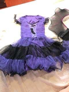 女童萬聖節裝扮,可穿到國小1年級$100元(運費自付!)